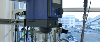 Pressure-charged laboratory fermenter at FAU (Source: FAU)