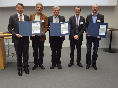 Biogas innovation prize 2016 (Photo: The German Farmers' Association)
