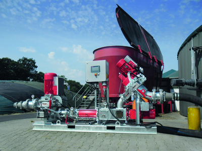 Shredding and pumping technology (photo: Vogelsang GmbH & Co. KG)