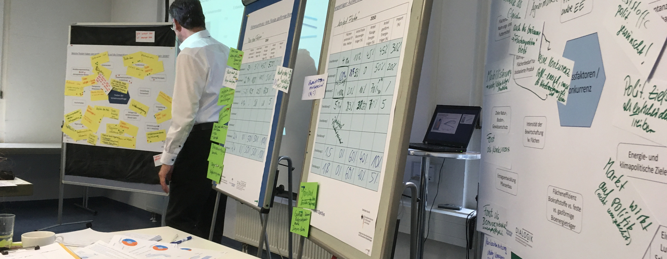 Workshop Projekt OptiSys, Februar 2018 in Stuttgart (Quelle: Dr. Gisela Wachinger)