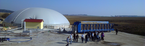 Biogas plant Zellerfeld (Photo: THI)