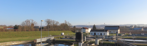 Wastewater treatment plant in Pößneck (Poto: Zweckverband Orla)