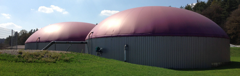 Biogas plant (Photo: Fraunhofer UMSICHT)