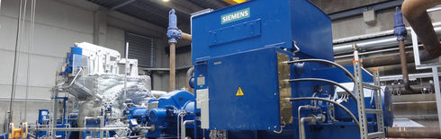 Biomass heating plant PAULS AG Belgium (Photo: Seeger Engineering AG)