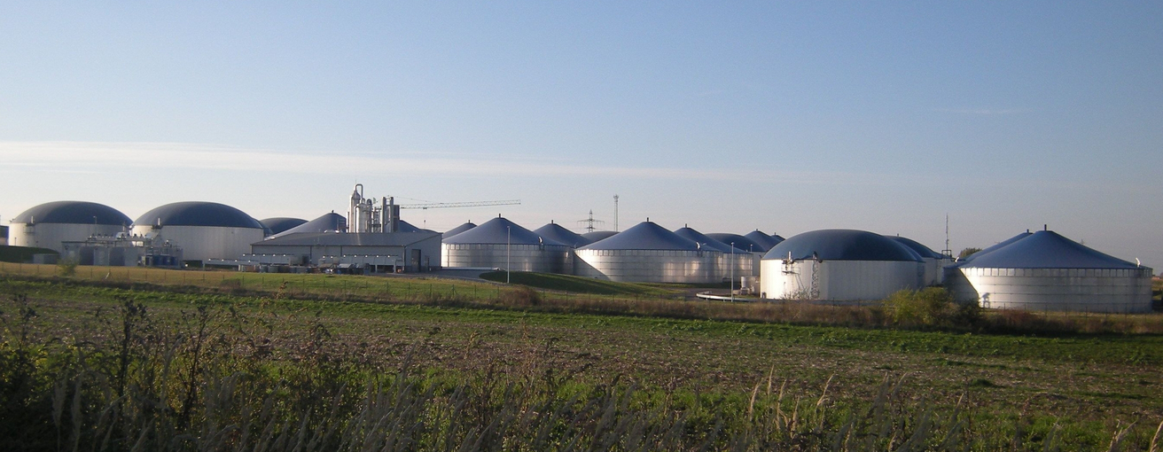 Biogas plant Könnern (Photo: DBFZ)