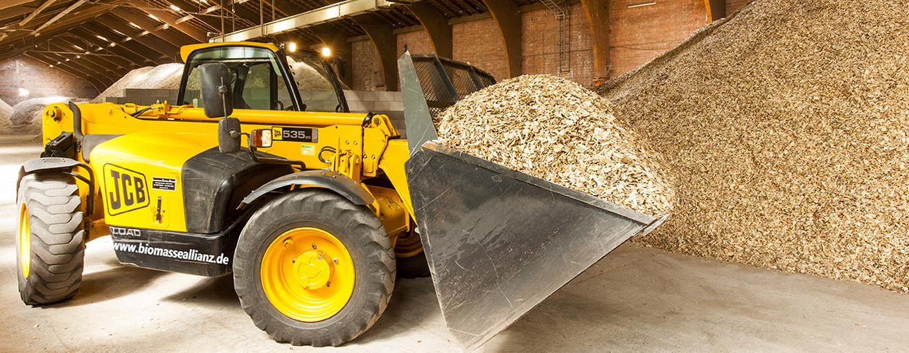 Transport of processed waste wood at the BEST UG (source: Dominic Hess | BEST UG)