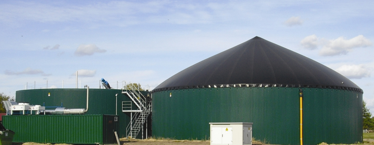 Biogas plant (Photo: Altus Woldmann)