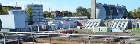 Project 03EI5421 Kläffizient: Sewage treatment plant with precleaning high-load activation stage and digestion tanks (Source: Susanne Vogel, City of Nürnberg)